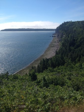 Grand Manan, Kanada: on Thomas B. Munro trail
