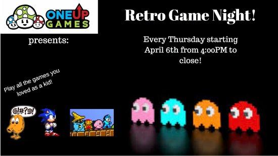 Plainville, ماساتشوستس: Retro Game Night