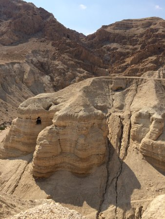 Qumran Caves : One of the main Dead Sea Scroll caves.