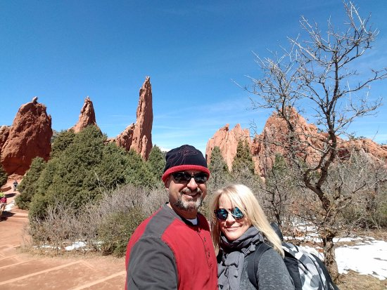 Cascade, CO: There are countless breathtaking places nearby the Adobe Inn. Garden of the Gods, a MUST do!