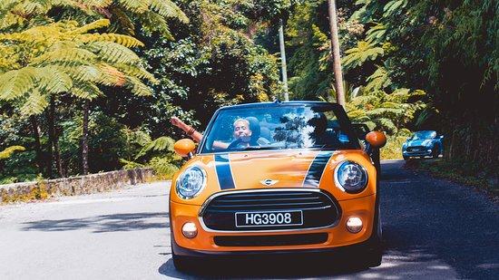 Mini Cooper Road Trip Amazing Ride To Scenic