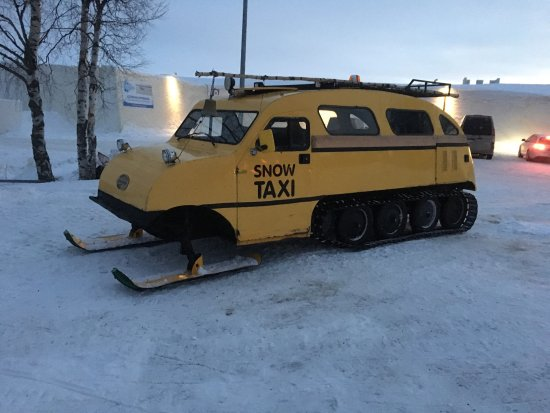 Κέμι, Φινλανδία: Kemi Snowtaxi
