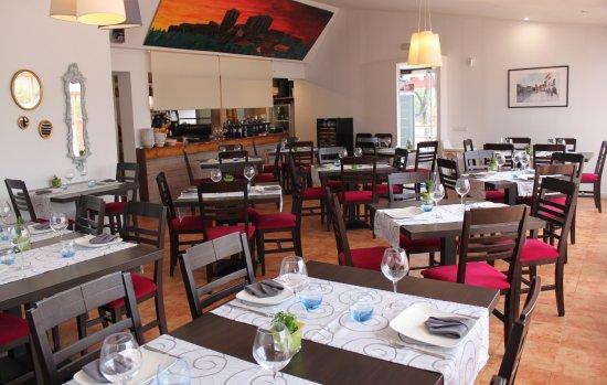 Villanueva de la Vera, Hiszpania: Vista general de nuestro restaurante.