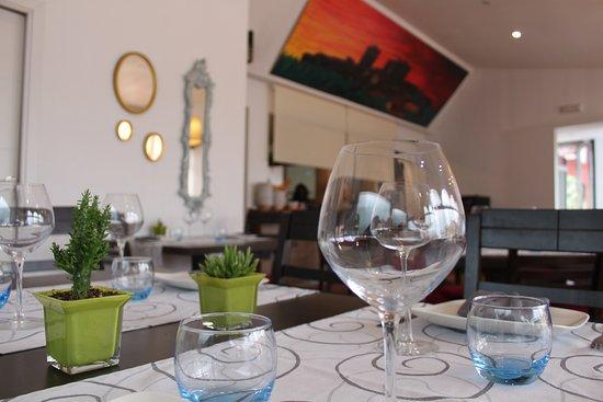 Villanueva de la Vera, Hiszpania: Detalles del comedor de nuestro restaurante.