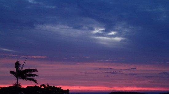 Mont Coffyn : Un halo dans le ciel