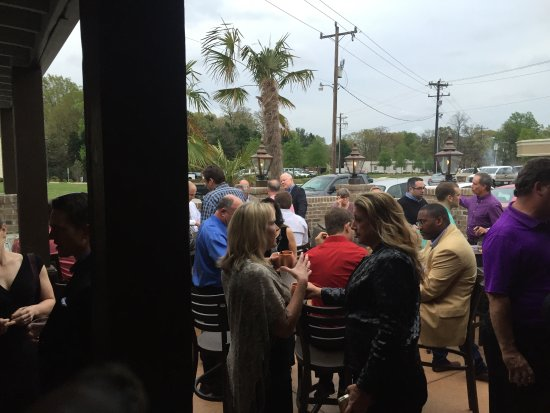 Greensboro, Carolina del Norte: One of many events on the Patio