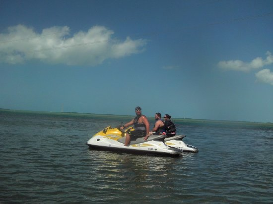 Key West Water Tours: A ton of fun, be sure to wear sunglasses!