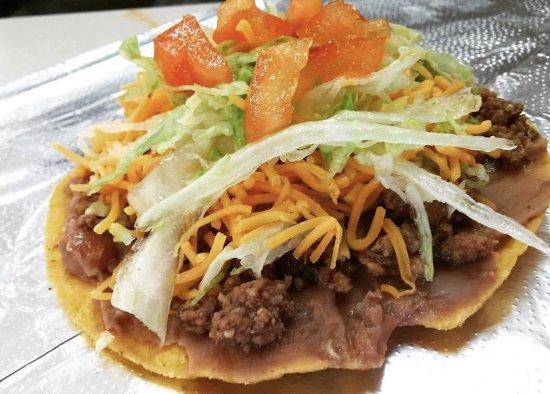 Belen, New Mexiko: Tostadas were yummy!