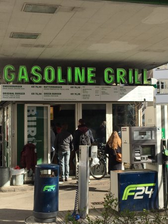 Photo of Fast Food Restaurant Gasoline Grill at Landgreven 10, Copenhagen 1301, Denmark
