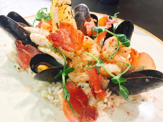 Dodds Restaurant: Seafood Risotto