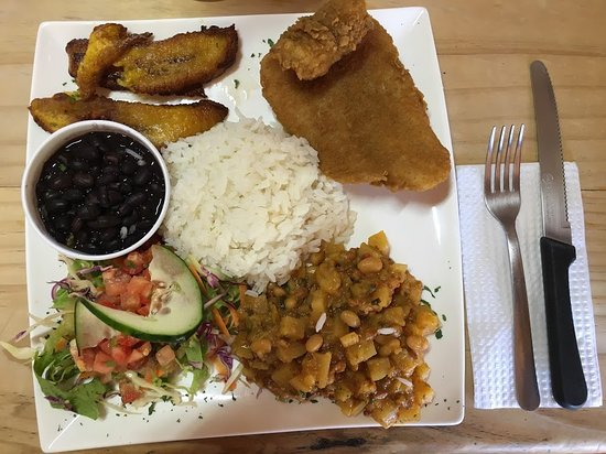 Poasito, Costa Rica: Satisfying local dish.