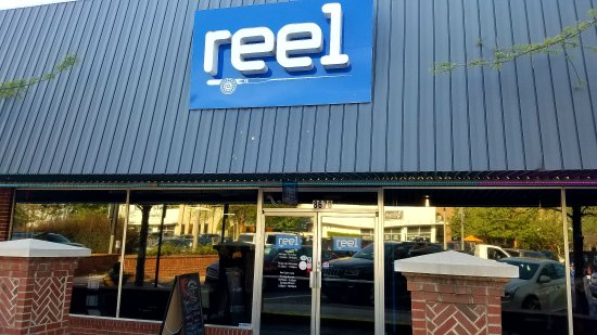 Woodstock, GA: Reel decor, inside and out