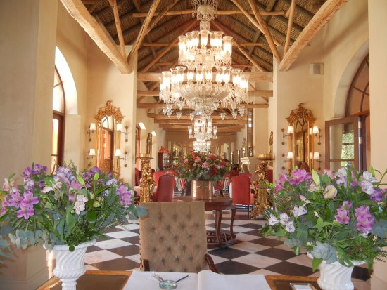 La Residence: Lobby e entrada do hotel