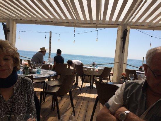 Villeneuve-les-Maguelone, Frankreich: notre emplacement en 3ème position dans le restaurant !