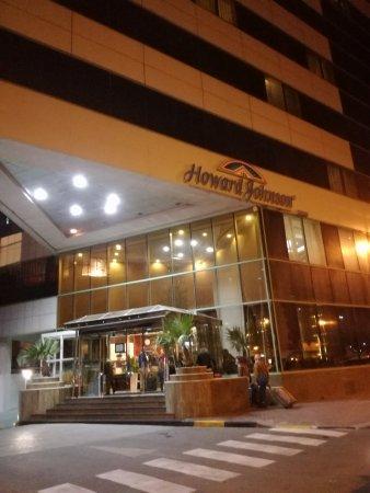 Howard Johnson Bur Dubai: Entrada
