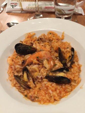 Quattro : Seafood risotto