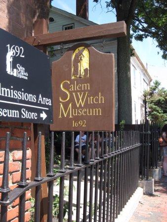Salem Witch Museum照片
