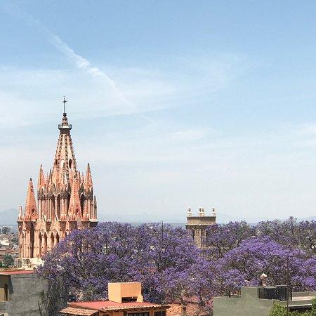 Casa Quetzal Hotel: Vista desde la terraza
