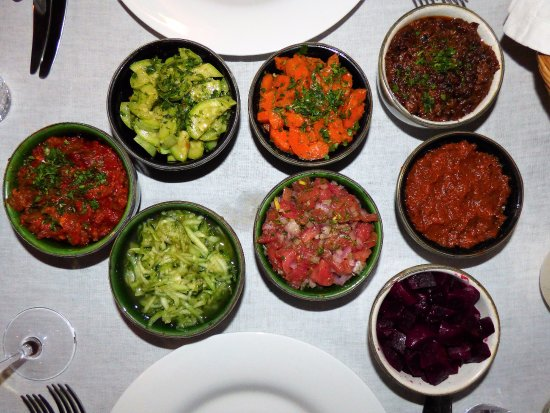 Riad Joya: Mezze Starters by Chef Ahmed