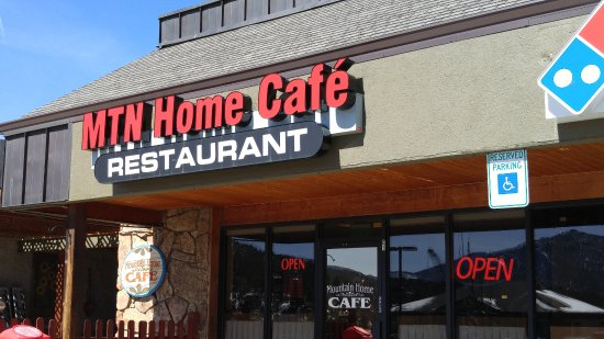 Mountain Home Cafe Inc Signage