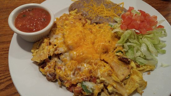 Mountain Home Cafe Inc. : migas with sausage
