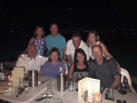 Jerry's Crew Enjoy a Friend-Filled Evening on Saba Rock!