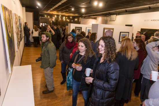 Pitman Gallery & Art Center's Inaugural Opening Reception 3/3/17
