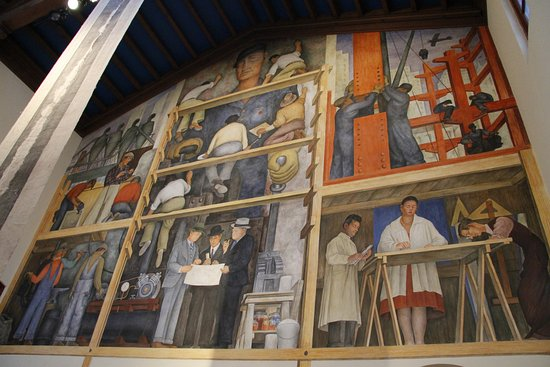 San francisco art institute all you need to know before for Diego rivera mural san francisco art institute