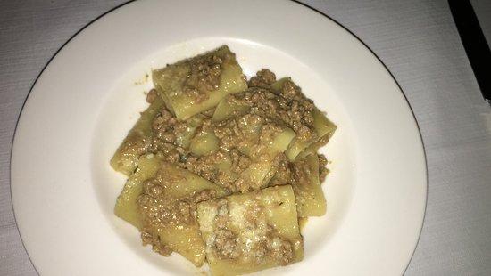 Gavorrano, Italy: pasta com ragu de pato