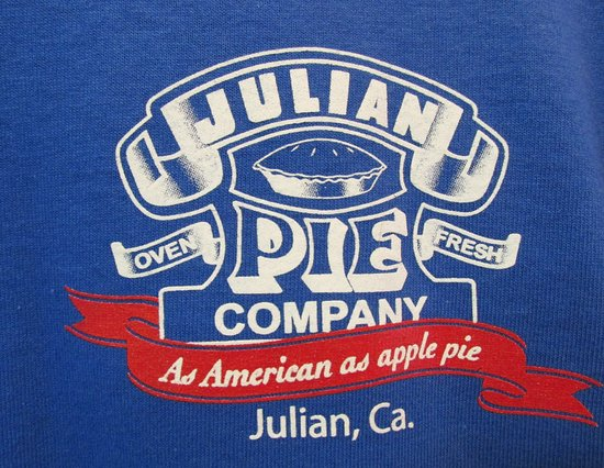 Tshirts they sell - Picture of Julian Pie Company - TripAdvisor