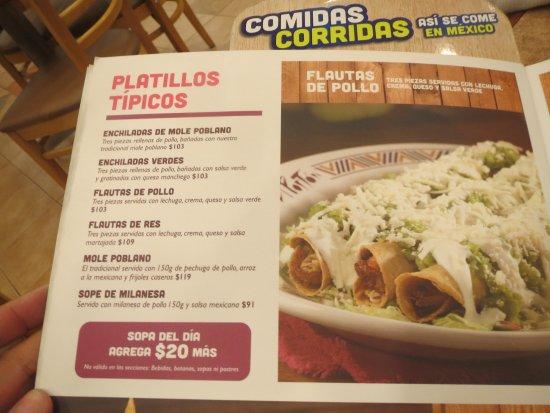 El Porton Mexican Restaurant Menu