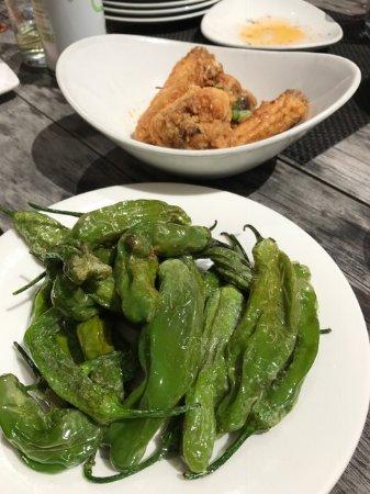Bocanova: wings and peppers