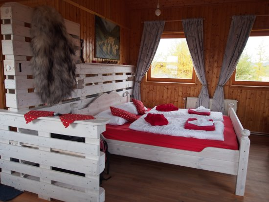 "Varmahlid, Iceland: The ""sheep"" cabin"