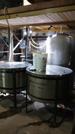 Copper Fox Distillery: Resfriamento