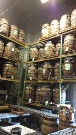 Copper Fox Distillery: Envelhecimento