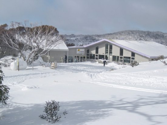 Perisher Valley, Australia: The best location. True ski-in and ski-out.