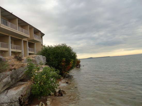 Quality Inn Lakefront: Lake Huron side