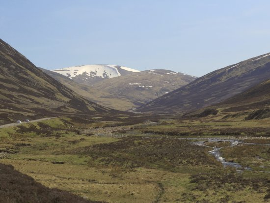 Aviemore and the Cairngorms, UK: rugged scenery of the Cairngorms