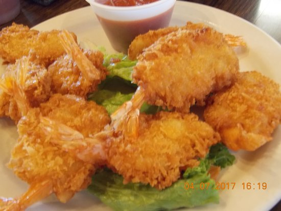 Coldfoot, AK: Fried shrimp