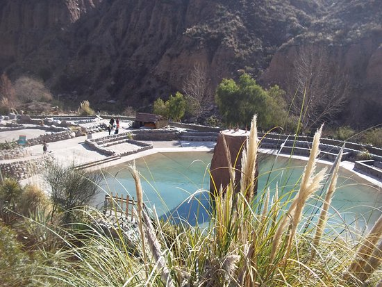 Parque de Agua Termas Cacheuta: piletas de aguas termales