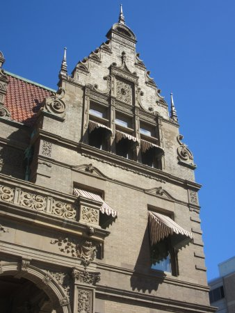 Pabst Mansion Exterior Detail