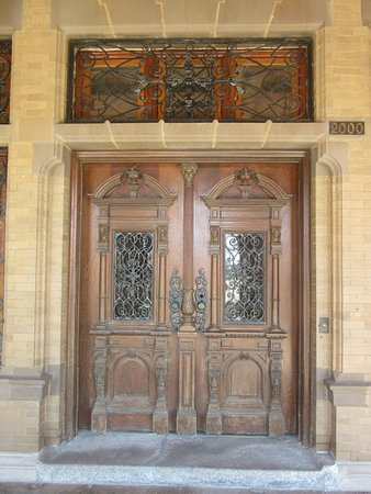 Pabst Mansion Exterior - Front Entry Doors