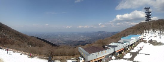 Mount Tsukuba: View to the north.