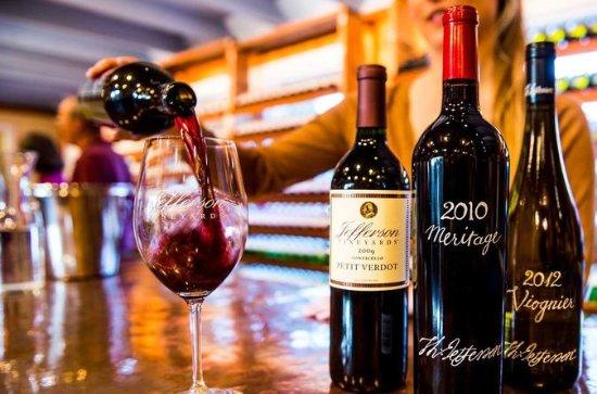 Privat bakom kulisserna Wine Tour