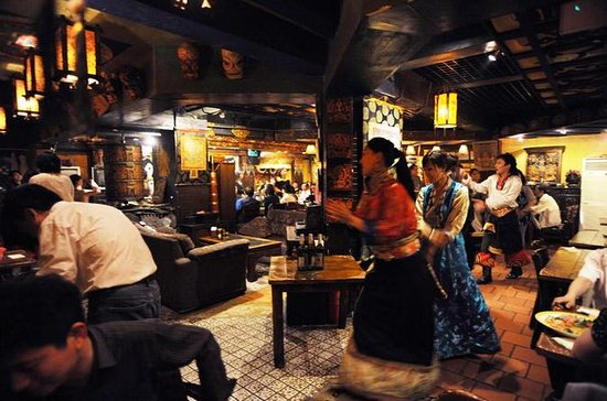 Expérience de repas tibétains à Makye...