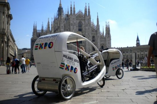 Best of Milan Rickshaw Experience and...