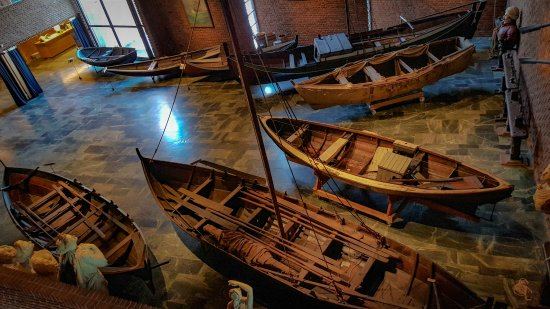 Norsk Maritimt Museum: Historic boats.