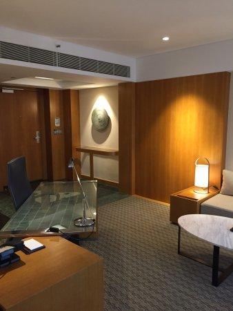 Grand Hyatt Singapore: ゴージャスで快適な客室