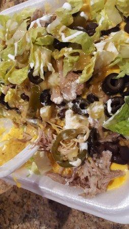 Kaysville, UT: nachos (pork was really good)
