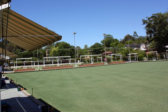 Pennant Hills, Australia: Bowling Greens